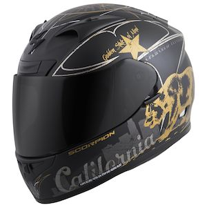 Scorpion EXO-R710 Golden State Helmet Black / XL [Demo - Good]