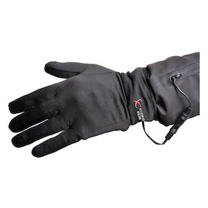 Powerlet 12V Atomic Skin Heated Glove Liner With 5 Position Controller Black / SM / MD [Blemished - Very Good]