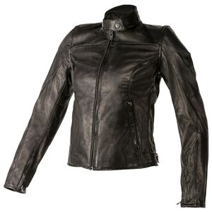 Dainese Mike Women's Leather Jacket Black / 48 [Blemished - Very Good]