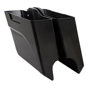 Arlen Ness Down-N-Out Saddlebag For Harley Touring 2014-2019 Paintable ABS / Right Side [Previously Installed]