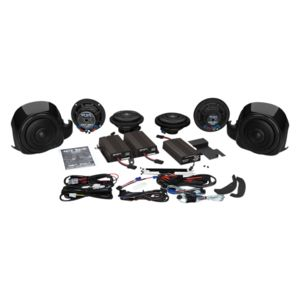 Wild Boar By Hogtunes Whole Hog Speakers & 900 Watt Amp Kit For Harley Touring 2014-2020