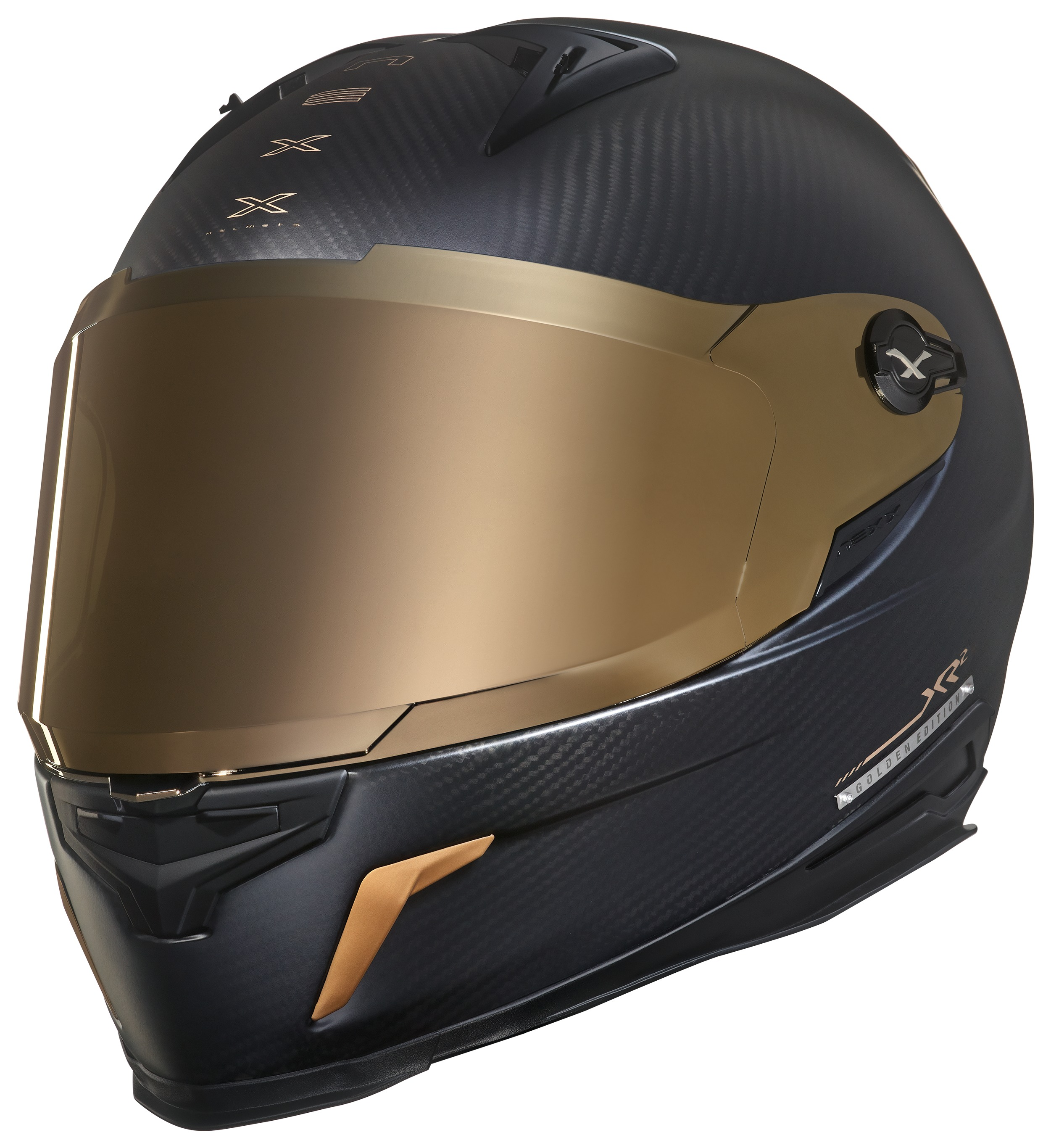 a1c5b0c9153d9 Nexx XR2 Carbon Golden Edition Helmet - RevZilla