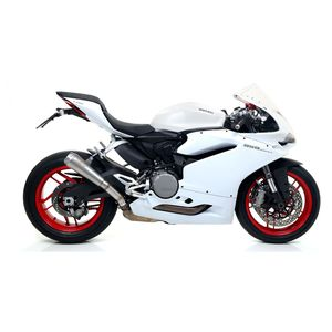 Arrow Pro-Race Slip-On Exhaust Ducati 959 Panigale 2016-2018 Titanium [Previously Installed]