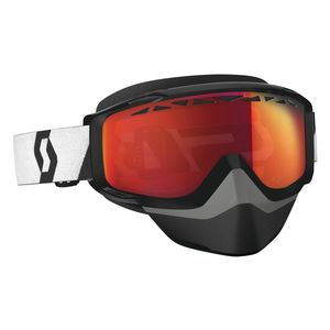 Scott Split OTG Snowcross Goggles - Chrome Lens