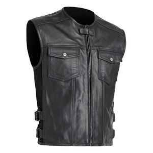 Street & Steel Concord Leather Vest