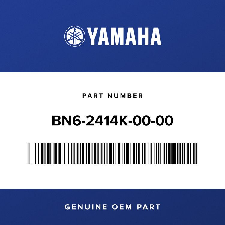 Yamaha DAMPER, PLATE 3 BN6-2414K-00-00