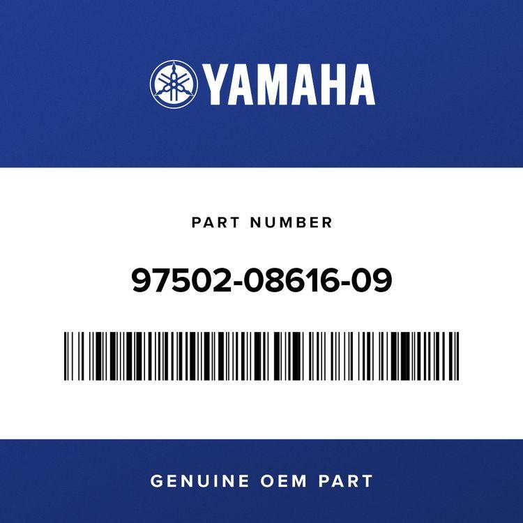 Yamaha BOLT, WITH WASHER 97502-08616-09