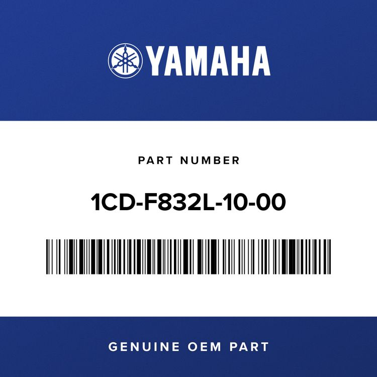Yamaha GRAPHIC, 13 1CD-F832L-10-00