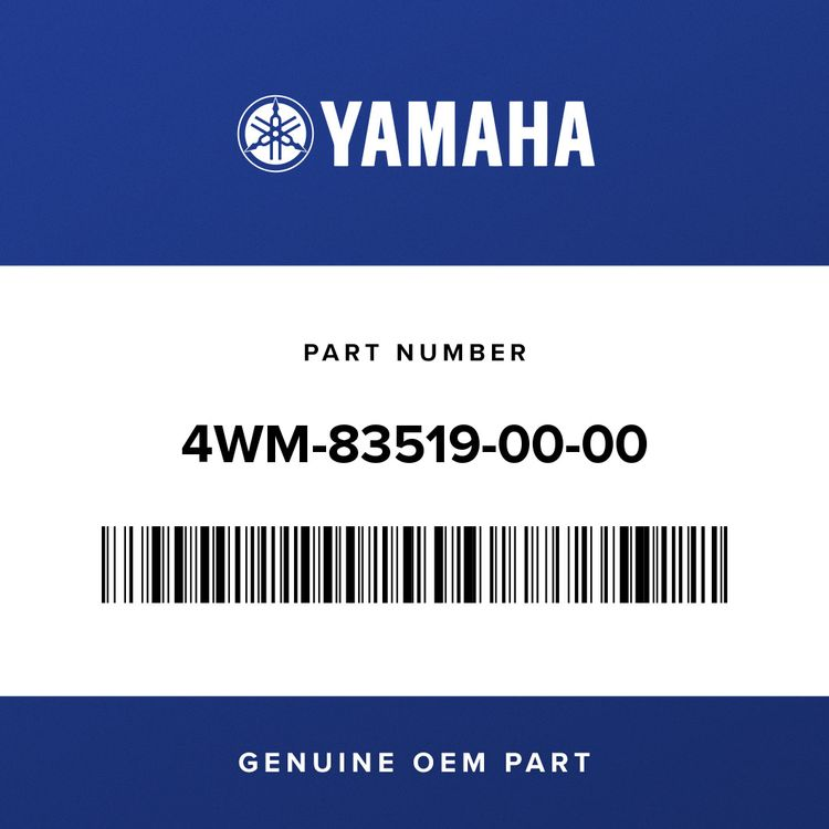 Yamaha BRACKET, METER 4WM-83519-00-00