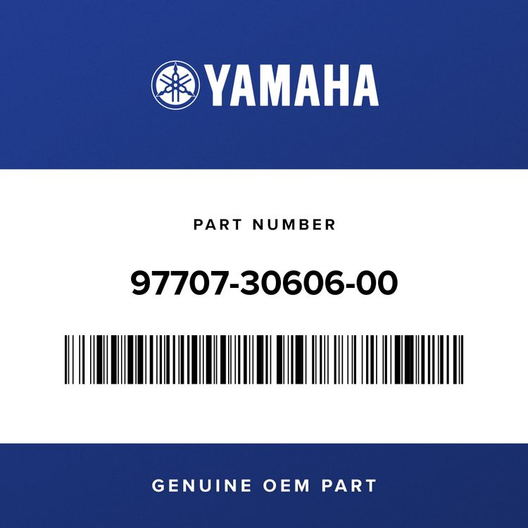 Yamaha SCREW, TAPPING 97707-30606-00