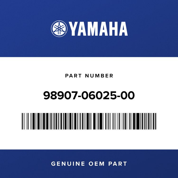 Yamaha SCREW, BIND 98907-06025-00