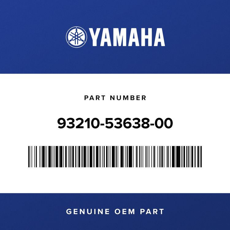 Yamaha O-RING 93210-53638-00