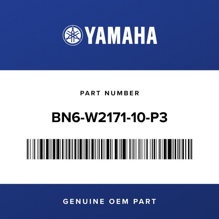 Yamaha COVER, SIDE 1 BN6-W2171-10-P3