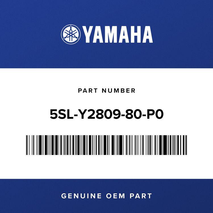 Yamaha COVER ASSY 2, UNDER 5SL-Y2809-80-P0