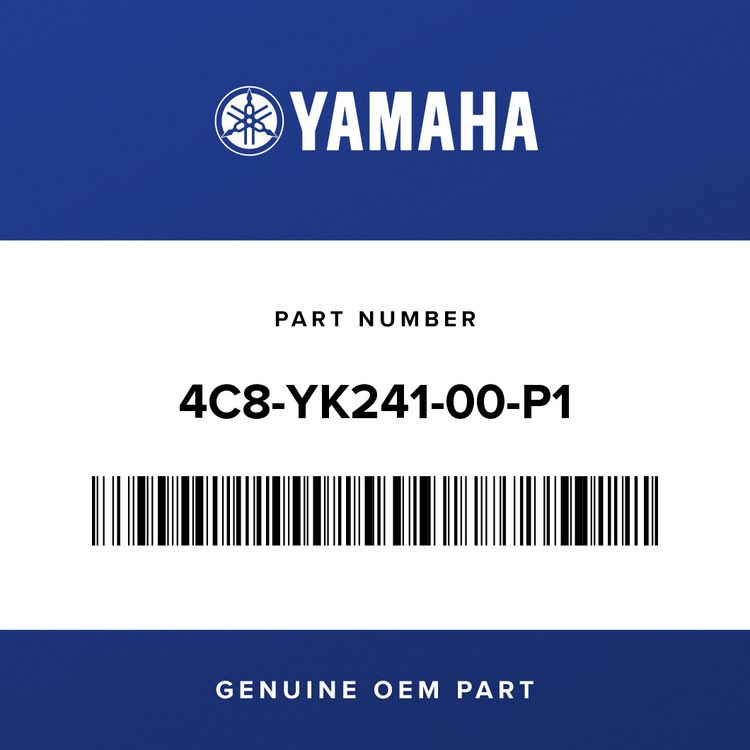 Yamaha FUEL TANK COMP. 4C8-YK241-00-P1