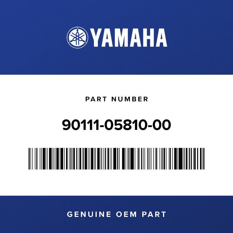 Yamaha BOLT, HEX. SOCKET BUTTON 90111-05810-00