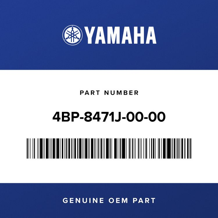 Yamaha SCREW, TAILLIGHT 4BP-8471J-00-00