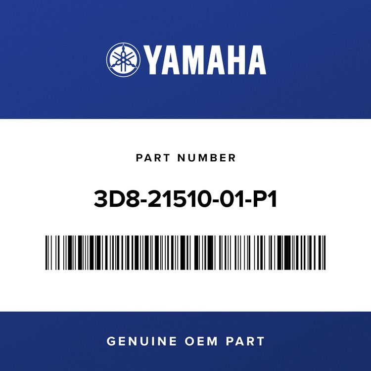 Yamaha FRONT FENDER COMP. 3D8-21510-01-P1