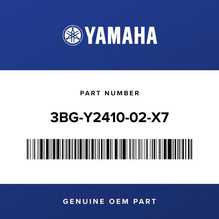 Yamaha FUEL TANK COMP. 3BG-Y2410-02-X7