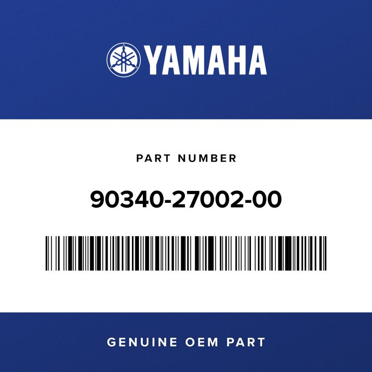 Yamaha PLUG, STRAIGHT SCREW 90340-27002-00