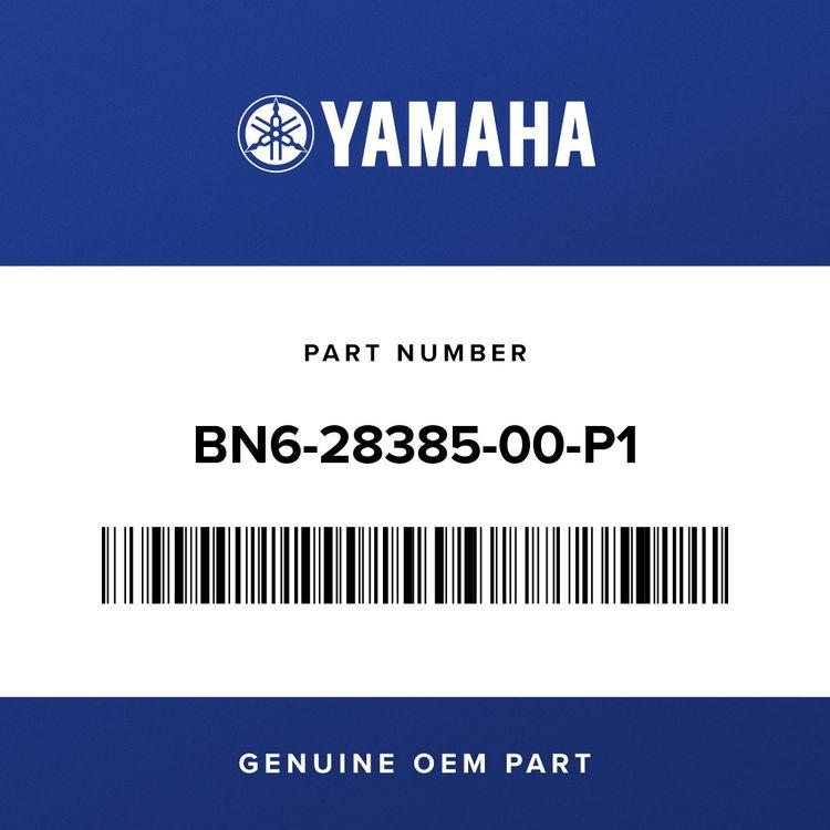 Yamaha COVER, UNDER BN6-28385-00-P1