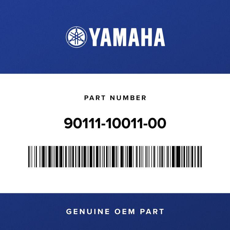 Yamaha BOLT, HEX. SOCKET BUTTON 90111-10011-00