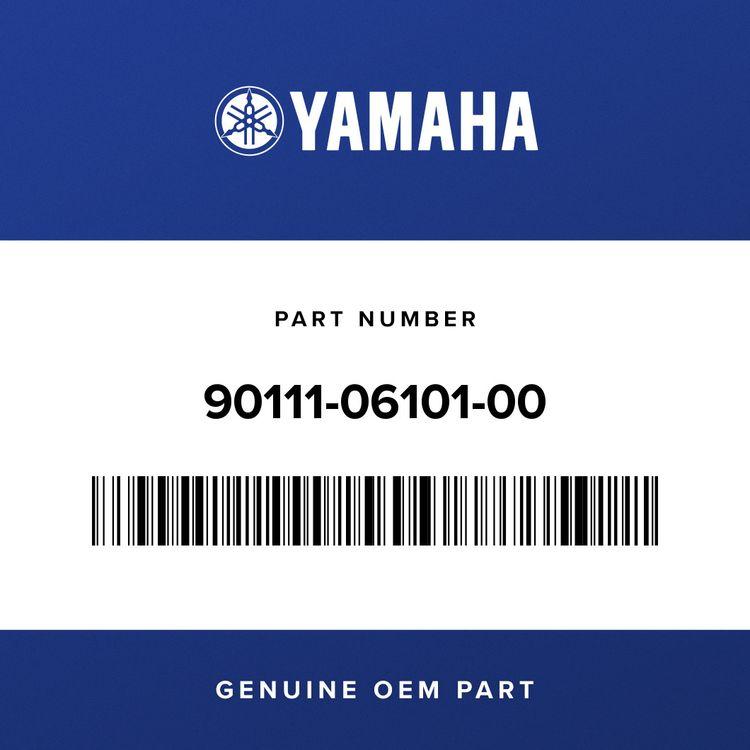 Yamaha BOLT, HEX. SOCKET BUTTON 90111-06101-00