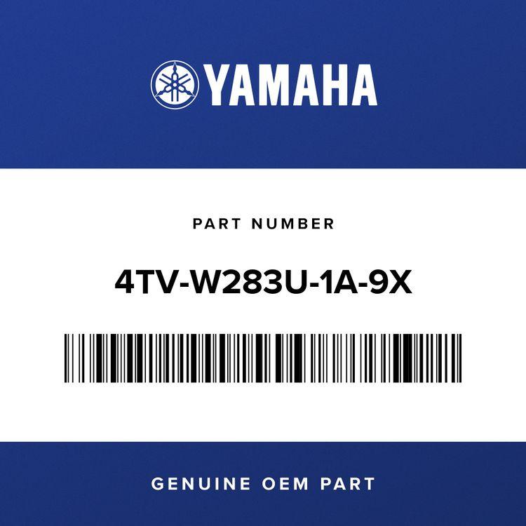 Yamaha PANEL ASSY 1         4TV-W283U-1A-9X
