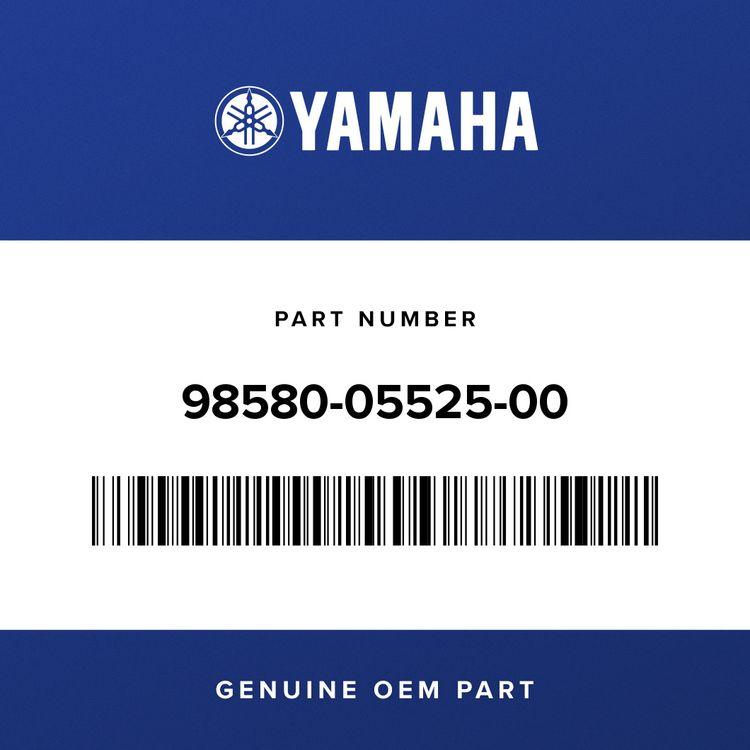 Yamaha SCREW, PAN HEAD 98580-05525-00