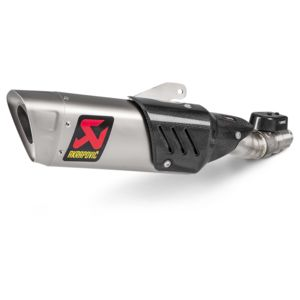 Akrapovic GP Slip-On Exhaust Yamaha R6 2017-2020