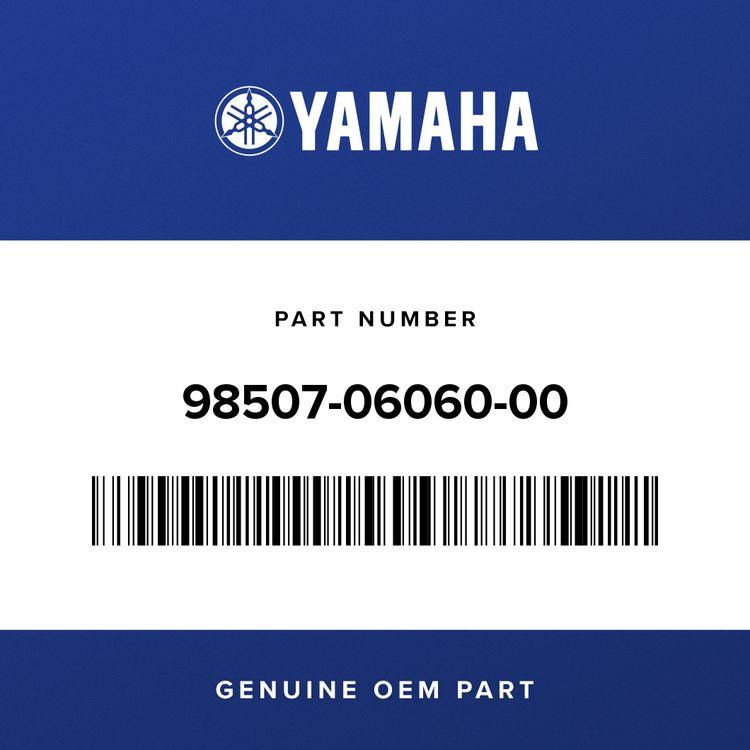 Yamaha SCREW, PAN HEAD 98507-06060-00