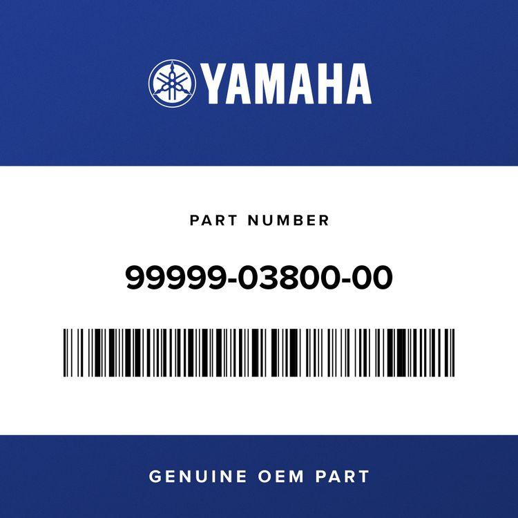 Yamaha MIDDLE GEAR COMP SET 99999-03800-00