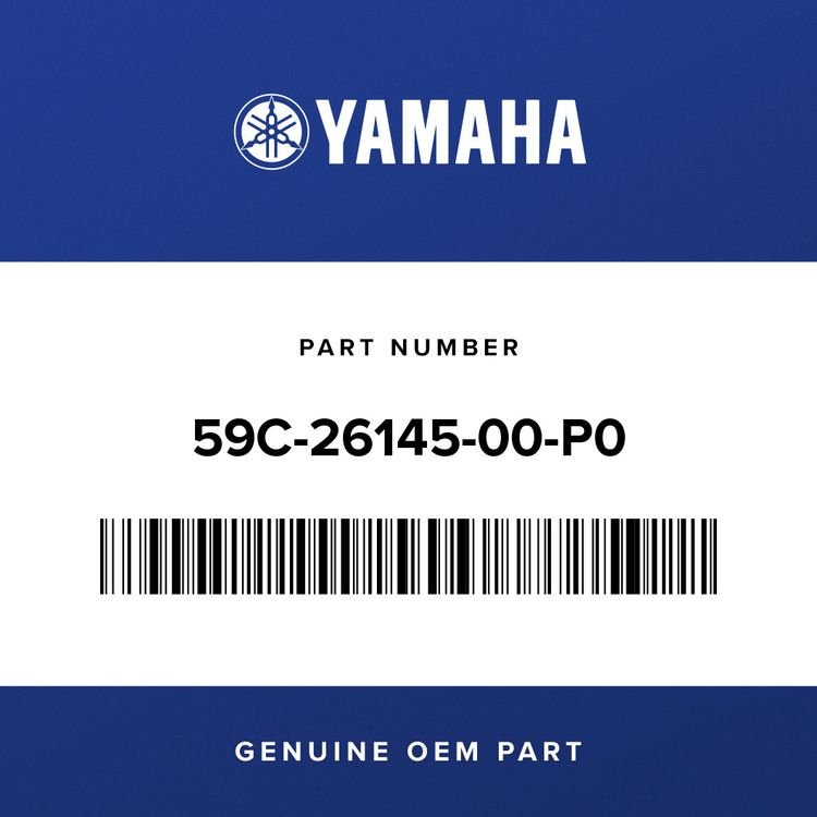 Yamaha COVER, HANDLE UPPER 2 59C-26145-00-P0