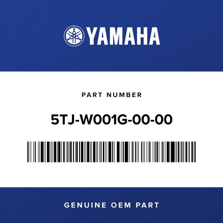 Yamaha CLUTCH PLATE KIT 5TJ-W001G-00-00