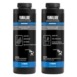 Yamalube Bio-Degradable Foam Air Filter Oil & Cleaner Kit