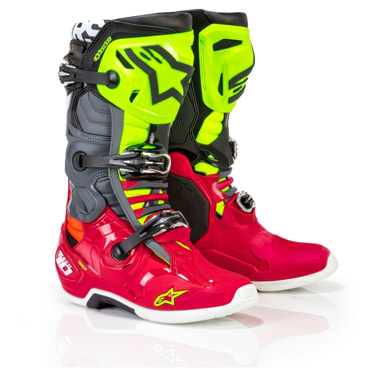 Red/Fluo Yellow/Grey