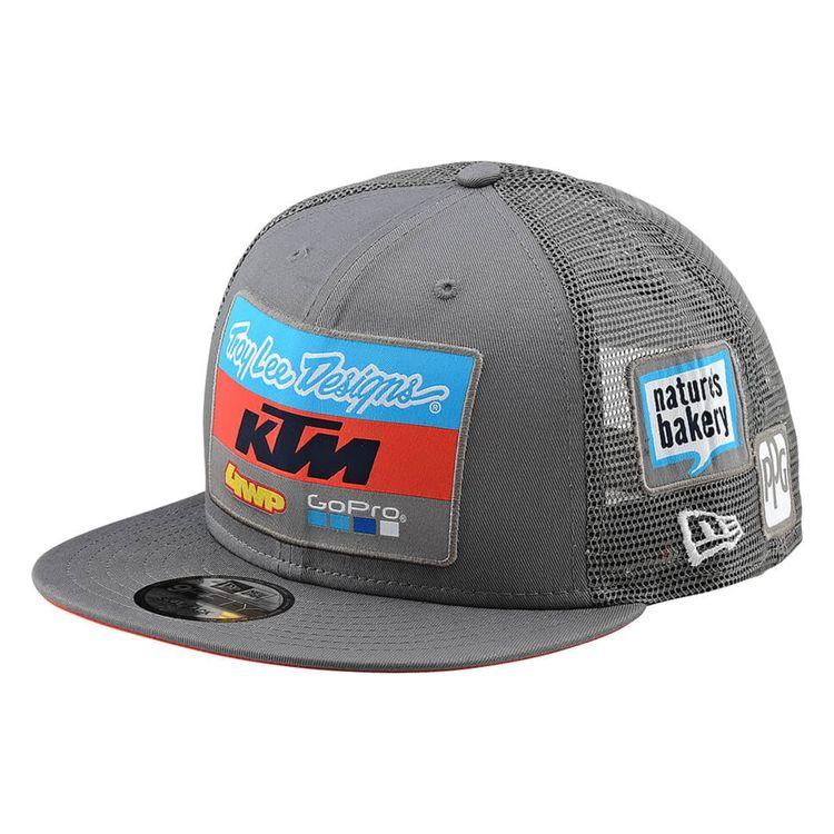 Troy Lee KTM Team Snapback Hat - RevZilla 863e143fc5d