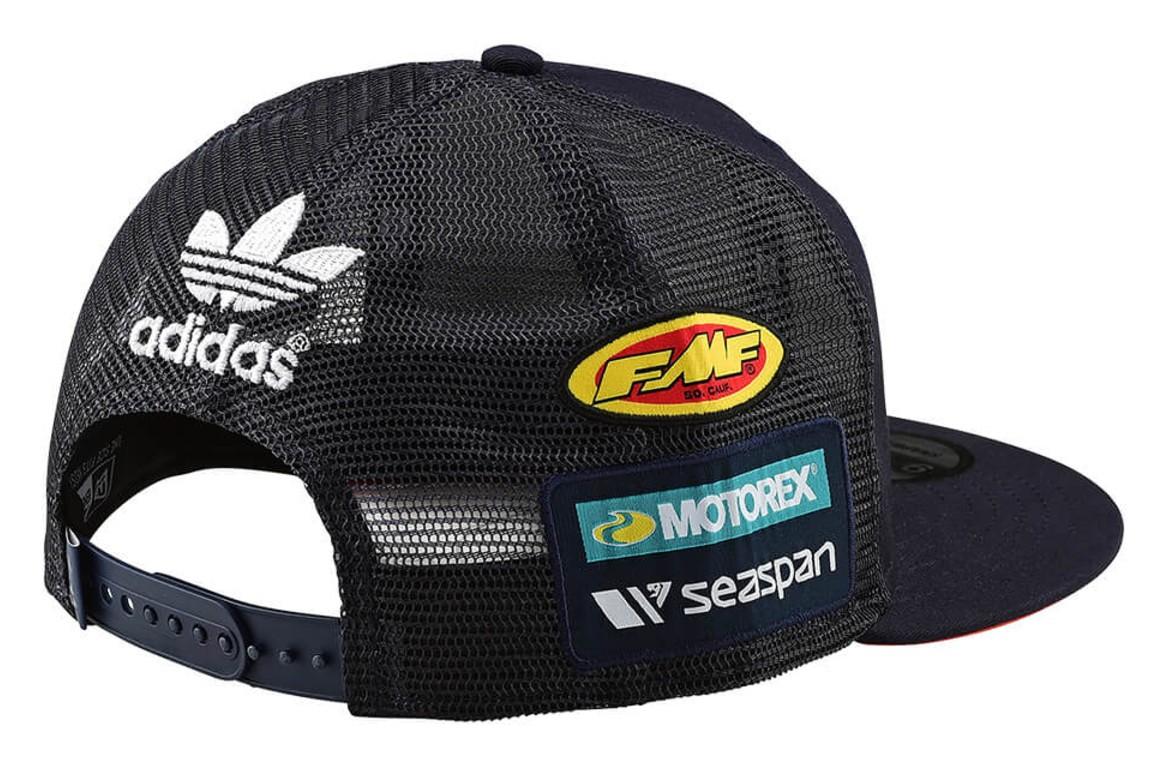 611dc03a36e Troy Lee KTM Team Snapback Hat - RevZilla