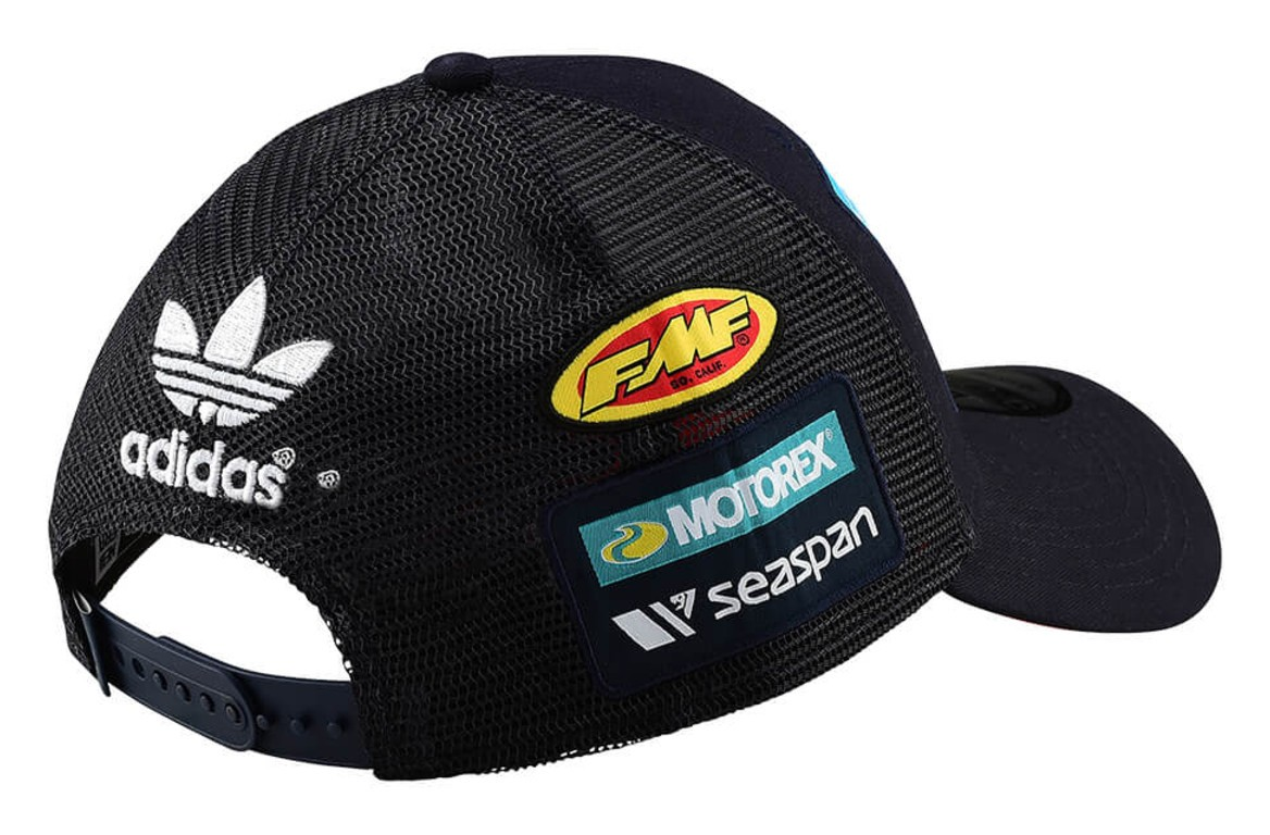 771967cf070a9 Troy Lee KTM Team Curve Snapback Hat - RevZilla