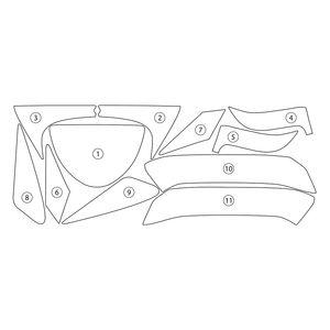 Samco Radiator Hose Kit Aprilia Tuono V4 R 1100 Rr Factory 10