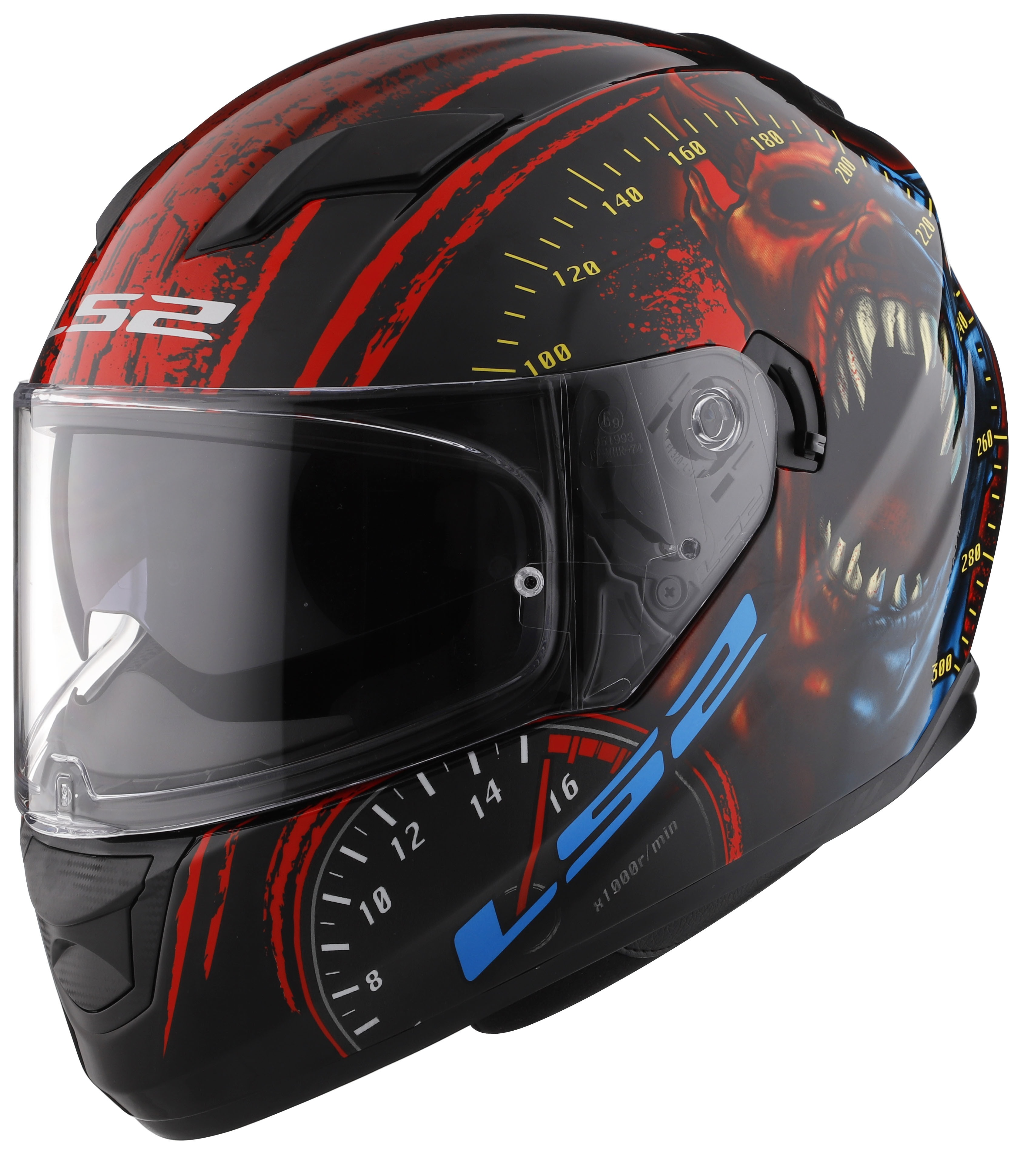 Ls2 stream speed demon helmet revzilla