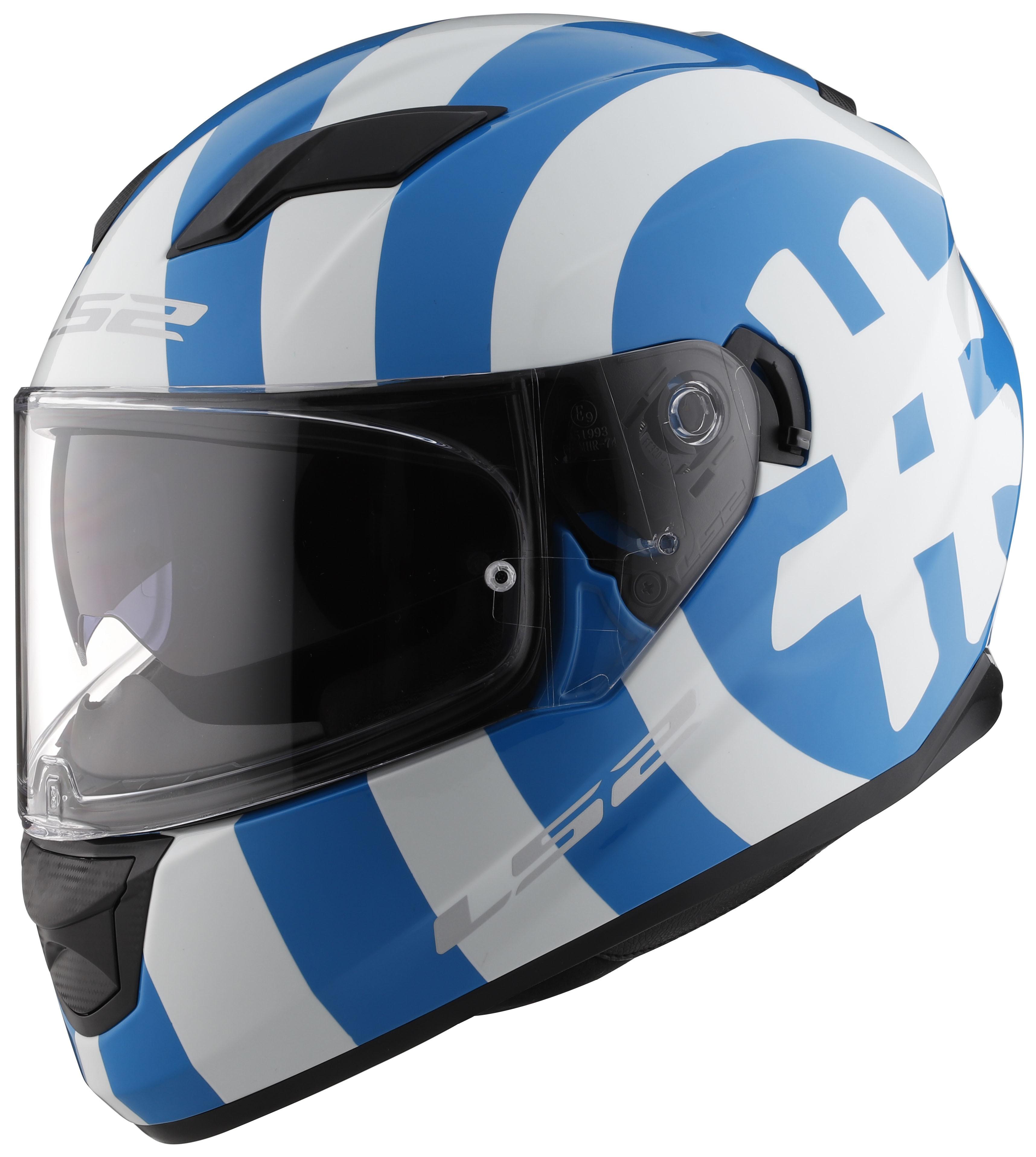 Ls2 stream hashtag glow in the dark helmet revzilla