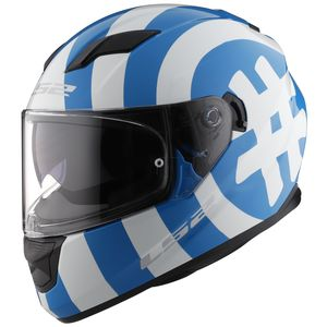 LS2 Stream Hashtag Glow In The Dark Helmet
