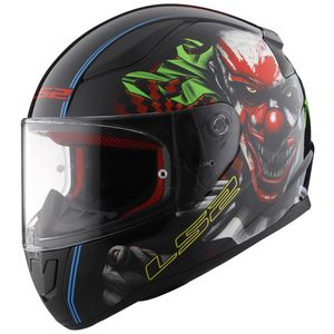 LS2 Rapid Happy Dream Glow In The Dark Helmet