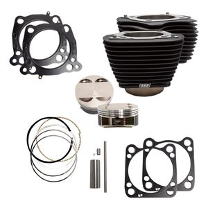 "S&S 124"" Big Bore Kit For Harley 107"" Milwaukee Eight 2017-2020"