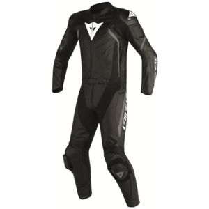 Dainese Avro D2 Two Piece Race Suit Black/Black/Anthracite / 54 (Tall) [Blemished - Very Good]