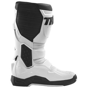 pair Sidi Motorcycle Boots Mx Strap for Pop Buckle-short Grey 30