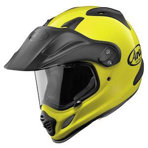 Arai XD-4 Hi-Viz Neon Helmet Fluorescent Yellow / XL [Demo - Good]