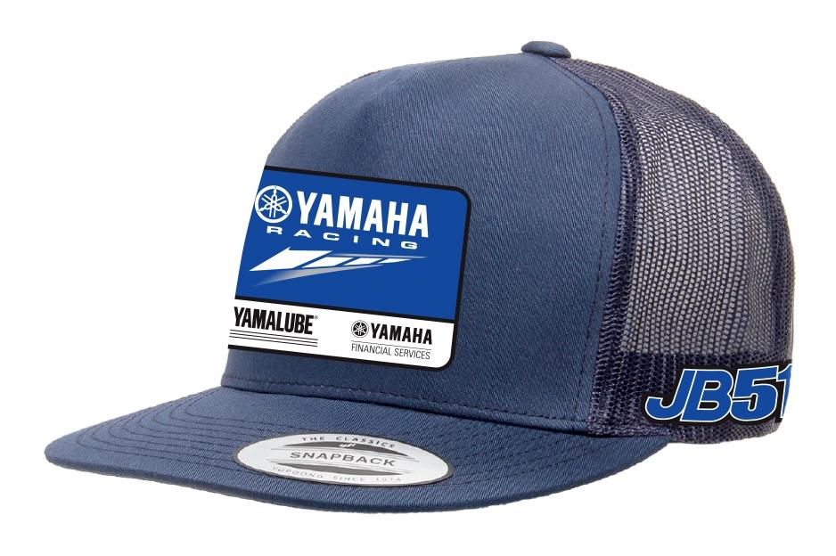 246514f3fb870 Factory Effex Yamaha JB51 Snapback Hat - RevZilla