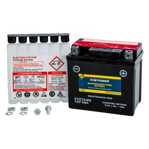 Fire Power Maintenance Free Battery CTZ7S-BS